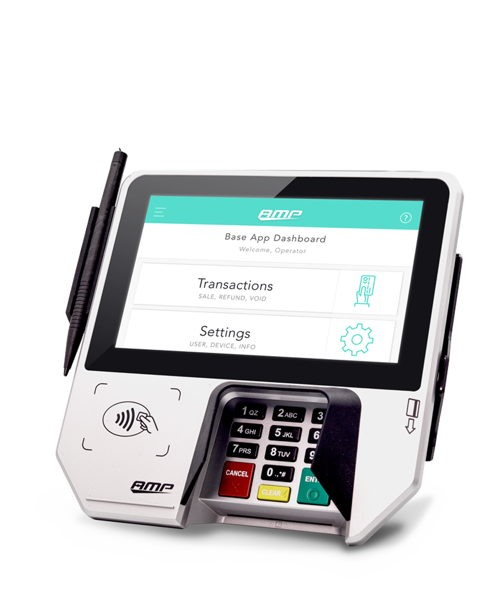 AMP 6700 EMV Smart Payment Terminal